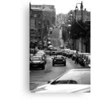 Birmingham Street View Canvas Print
