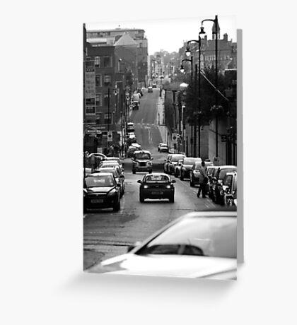 Birmingham Street View Greeting Card
