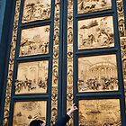 Golden Duomo Doors by Ryan Kleczka
