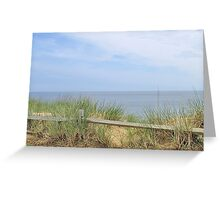 Ocean bluff Greeting Card