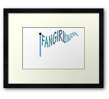 Fangirl Kingdom  Framed Print