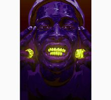 ASAP ROCKY GLOW PURPLE GOLD GRILL RINGS Unisex T-Shirt