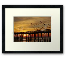 happy sunrise to you Framed Print