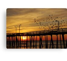 happy sunrise to you Canvas Print
