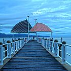 Strand Jetty in HDR by Matthew Larsen