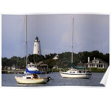 Silver Lake of Ocracoke Poster