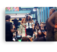 Centre of Attention - Fashion Canvas Print