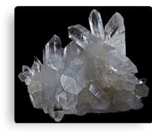 Lemurian Seed Crystal Quartz Gemstone Canvas Print