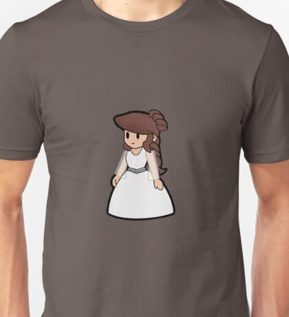 Paper Geek Princesses- Princess Leia  Unisex T-Shirt