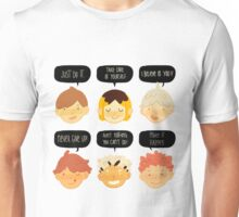 motivational haikyuu full Unisex T-Shirt