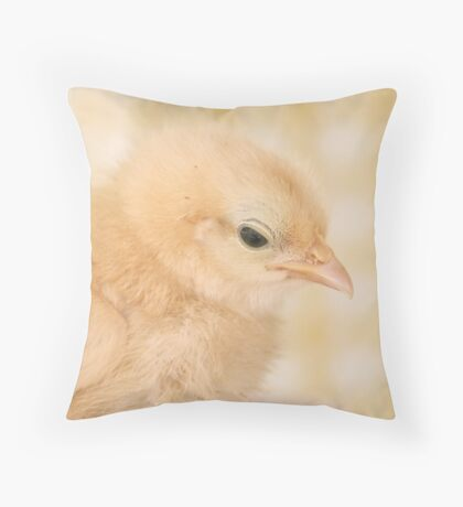 Baby Chick Throw Pillow