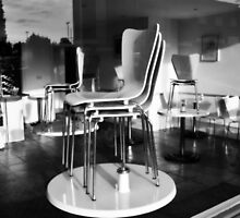 Chairs on Tables by Matthew Floyd