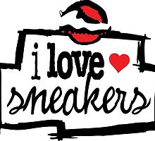 I Love Sneakers Chicago by tee4daily