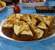 Go on - grab a slice! Delicious Carrot Cake by BlueMoonRose