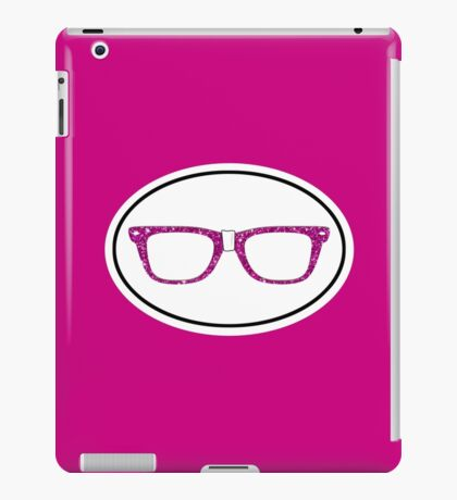 Glitter Geek iPad Case/Skin