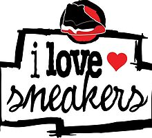 I Love Sneakers J11 Breds by tee4daily