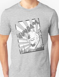 Gundam Stamp Gray Unisex T-Shirt