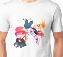 Chibi Sasori and Deidara Unisex T-Shirt