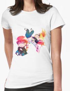 Chibi Sasori and Deidara Womens Fitted T-Shirt