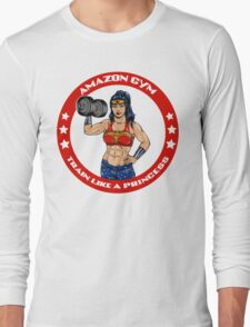 Amazon Gym (full color version) Long Sleeve T-Shirt