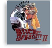 Back to the Fscoiety Metal Print