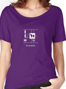'A stable'  - Geek Slogan Tee Women's Relaxed Fit T-Shirt
