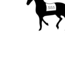 'A stable'  - Geek Slogan Tee Sticker