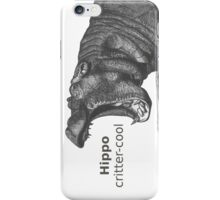 Calling All Hippo Lovers iPhone Case/Skin