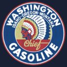Washington Chief Gasoline by KlassicKarTeez