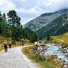 Trekking in Tirol II by Xandru