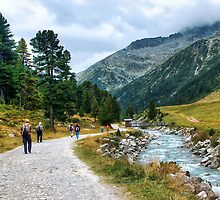 Trekking in Tirol II by Xandru