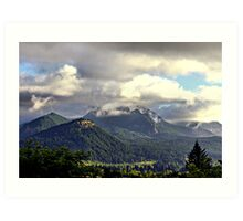 Columbia River Gorge Washington  Art Print