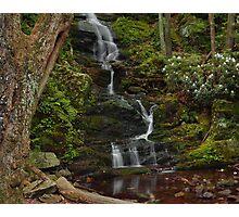 Buttermilk Falls - Tillmans Ravine Photographic Print