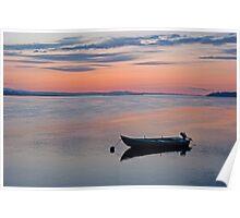 River Tay at Dawn Poster