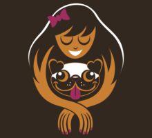 Pug Lady by Kari Fry