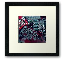 Make a Circuit With Me Framed Print