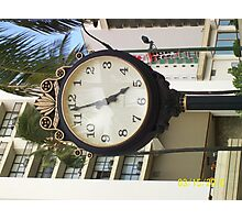 5 a clock somewhere Photographic Print
