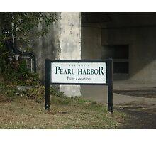 Pearl Harbor  Photographic Print
