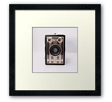 Brownie Junior camera Framed Print