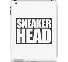 Sneakerhead- box iPad Case/Skin
