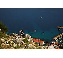Dubrovnik from above Photographic Print