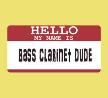 Bass Clarinet Kids Tee