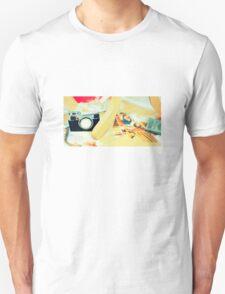Felt Camera T-Shirt