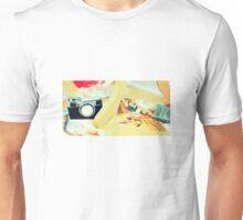 Felt Camera Unisex T-Shirt