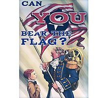 BioShock Infinite – Can You Bear the Flag? Photographic Print