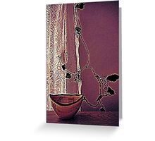 a still life in my life~ Greeting Card