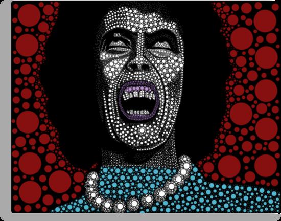 Frank N Furter - Rocky Horror Picture Show by Kayden DiGiovanni