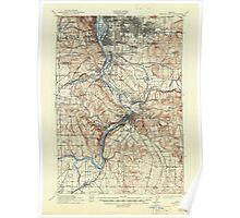 USGS Topo Map Oregon Oregon City 282777 1914 62500 Poster