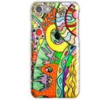 cosmic puzzle of life and death iPhone Case/Skin