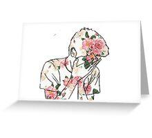 Flatsound Flower Edit Greeting Card